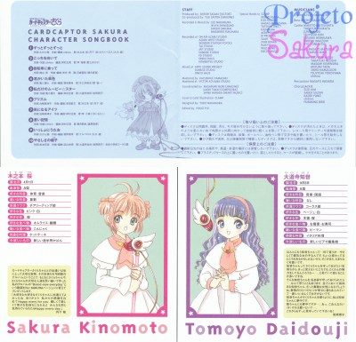 Sakura Character SongBook