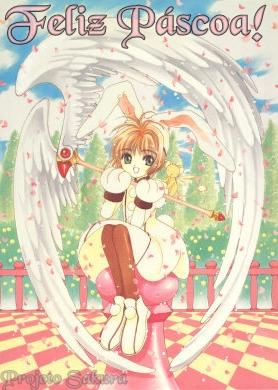 Feliz Páscoa - Sakura