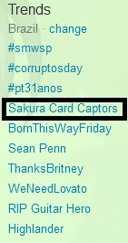 Trend Topics / Sakura Card Captors
